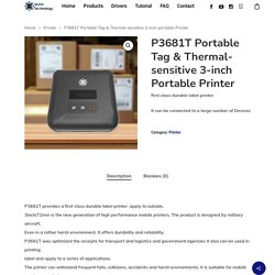 3 inch portable Printer
