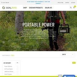 Portable Power Banks, Power Stations & Generators