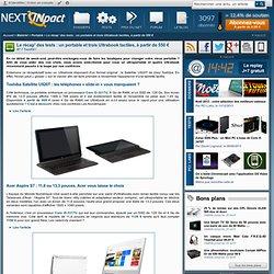 Le récap' des tests : un portable et trois Ultrabook tactiles, à partir de 550 €