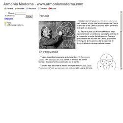 Armonía Moderna - www.armoniamoderna.com