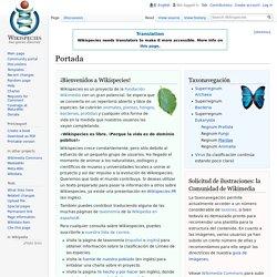 biblioteca de especies de plantas, animales, hongos, bacterias,