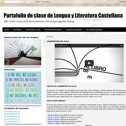 Portafolio de clase de Lengua y Literatura Castellana: LIBRÓMETRO DE AULA