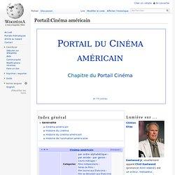 Portail:Cinéma américain
