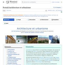 Portail:Architecture et urbanisme