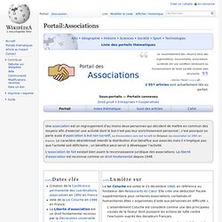 Portail:Associations