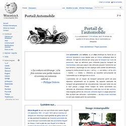 Portail:Automobile