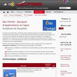 Edu Portail : Bouquet d'applications en ligne