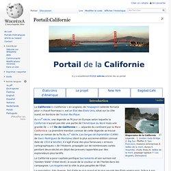Portail:Californie