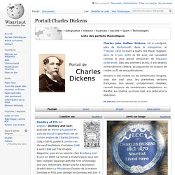 Portail:Charles Dickens