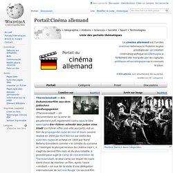Portail:Cinéma allemand