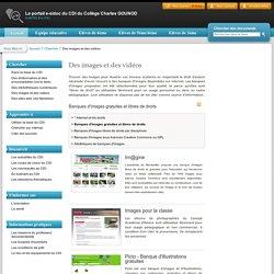 Le portail e-sidoc du CDI du Collège Charles GOUNOD