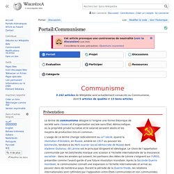 Portail:Communisme