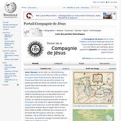 Portail:Compagnie de Jésus