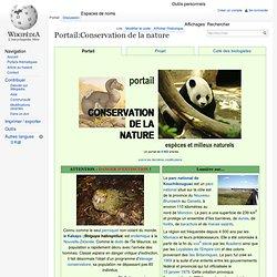 Portail:Conservation de la nature - Wikipedia