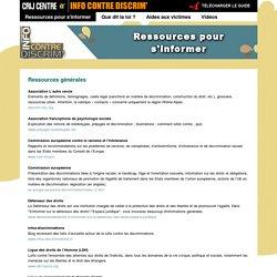 """Portail """"Info contre discrim'"""""""