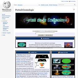 Portail:Cosmologie