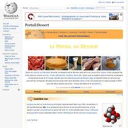 Portail:Dessert