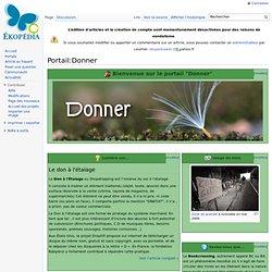 Le PORTAIL Ekopedia RECYCLER-DONNER
