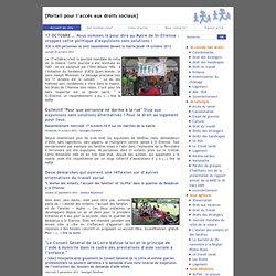 [Portail pour l'accès aux droits sociaux] Accueil du site