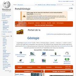 Portail:Géologie