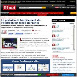Le portail anti-harcèlement de Facebook est lancé en France