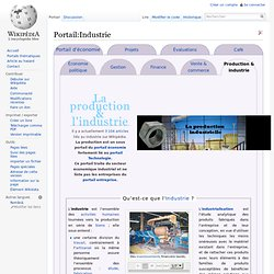 Portail:Industrie
