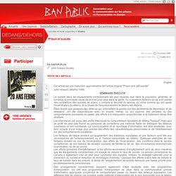 PRISON.EU.ORG - Le portail de l'information sur les prisons - Un site de Ban Public