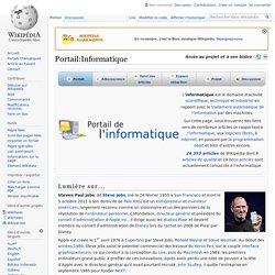Portail:Informatique