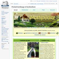 Portail:Jardinage et horticulture