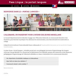 # Portail #langue #Allemand #École#Collège