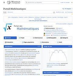 Wiki Portail - Maths