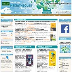 Portail des médiathèques d'Eure-et-Loir - accueil