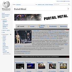 Portail:Metal