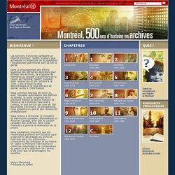 Portail montréalais des archives - Accueil