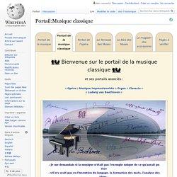 Wikipédia - Portail de la musique classique