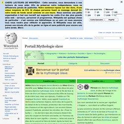 Portail:Mythologie slave