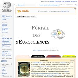 Portail:Neurosciences