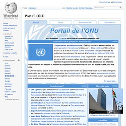 Portail:ONU