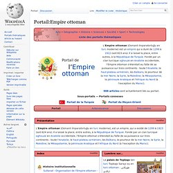Portail:Empire ottoman