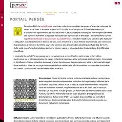 Portail Persée – Persée UMS