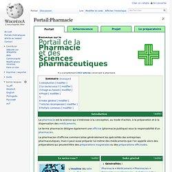 Portail:Pharmacie
