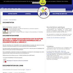Portail PMB Services