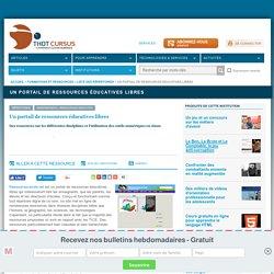 Un portail de ressources éducatives libres