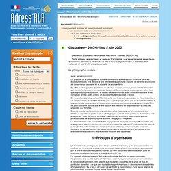Portail Adress'RLR: Résultats de recherche simple