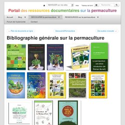 BibliographiePermaculture