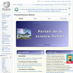 Portail:Science-fiction