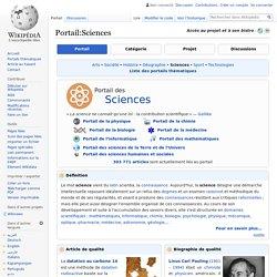 Portail:Sciences