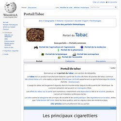 Portail:Tabac