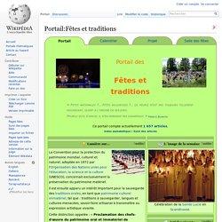 Portail:Fêtes et traditions
