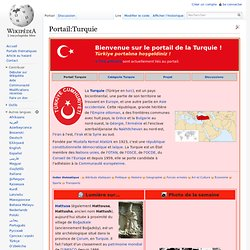 Portail:Turquie (Wikipedia)